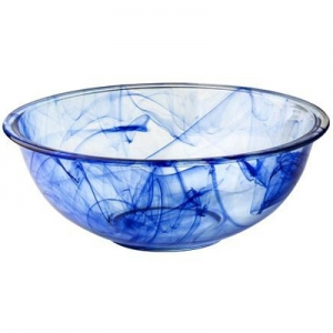 Pyrex: 4-Quart Watercolor Mixing Bowl, Blue Lagoon