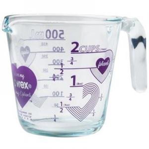 Pyrex: Love 2-Cup Measuring Cup, Purple