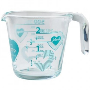 Pyrex: Love 2-Cup Measuring Cup, Turquoise