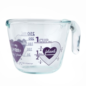 Pyrex: Love 1-Cup Measuring Cup, Purple