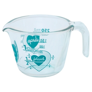 Pyrex: Love 1-Cup Measuring Cup, Turquoise