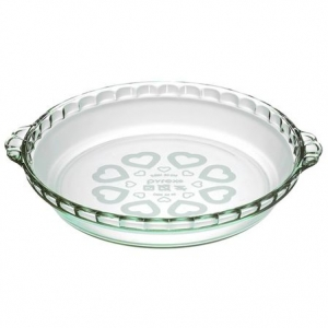 Pyrex: Love Pie Plate