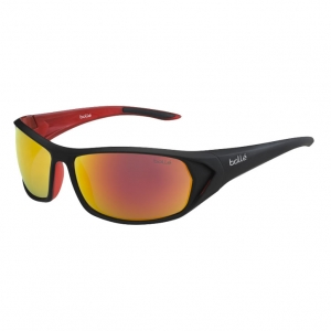 Bolle: Blacktail Shiny Anthracite/Red TNS Fire Sunglasses