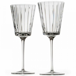 Rogaska: Avenue All-Purpose Wine Glasses, Set of 2