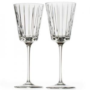 Rogaska: Avenue White Wine Glasses, Set of 2