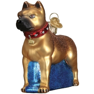 Old World Christmas: Staffordshire Terrier