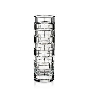 Rogaska: Quoin Round Bud Vase