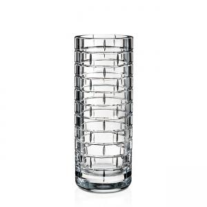 Rogaska: Quoin Round Vase