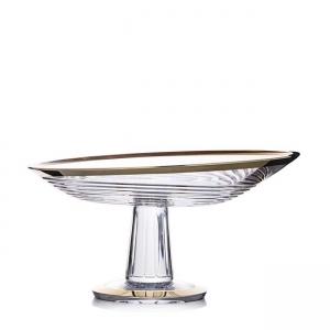 Rogaska: Gold Amphora Platter