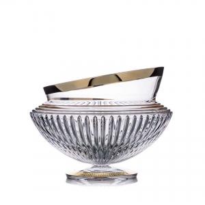 Rogaska: Gold Amphora Bowl