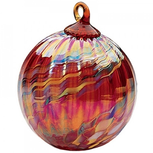 Glass Eye Studio: Holiday Swirl Ornament