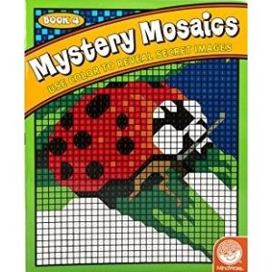 Mystery Mosaics: Book 4