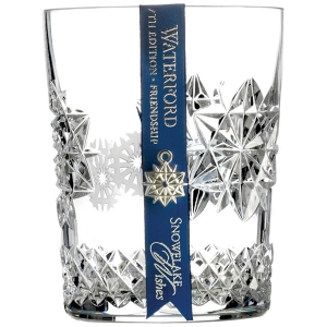 Waterford: 2017 Snowflake Wishes for Friendship Clear DOF Glass