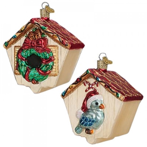Old World Christmas: Christmas Birdhouse