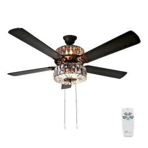 River of Goods: Caged Crystal Ceiling Fan