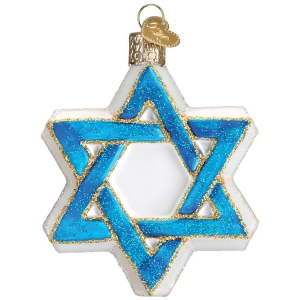 Old World Christmas: Star of David
