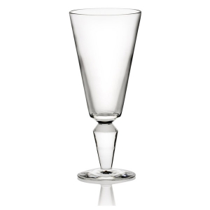 Steuben: Vee Red Wine Glass