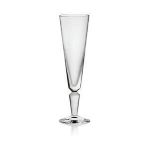 Steuben: Vee Champagne Glass