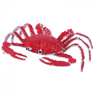 Beadworx: Small Beaded Crab