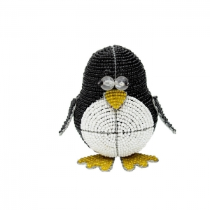Beadworx: Beaded Silly Penguin