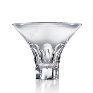 Steuben: Tortoise Martini Glass