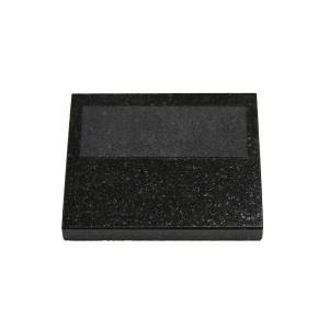 """Steuben: 3"""" x 3.5"""" Black Granite Base"""