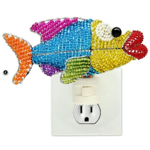 Beadworx: Beaded Fish Night Light