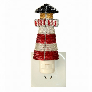 Beadworx: Beaded Lighthouse Night Light