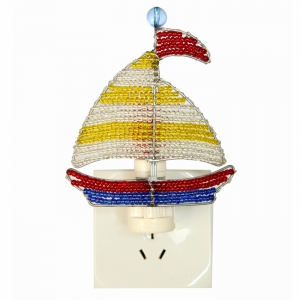 Beadworx: Beaded Sailboat Night Light