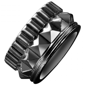 Waterford Rebel: Gracie Size 7.5 Stud Ring, Gunmetal