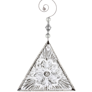 Waterford: 2018 Times Square Serenity Triangle Ornament