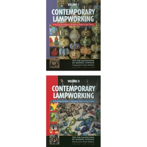 Contemporary Lampworking: A Practical Guide, Volume 1 and 2