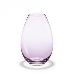 """Holmegaard: Cocoon Vase Fuchsia 10.2"""""""