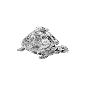 Studio Silversmiths: Crystal Turtle Candy Box