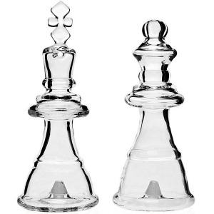 Studio Silversmiths: Chess Salt and Pepper Shakers