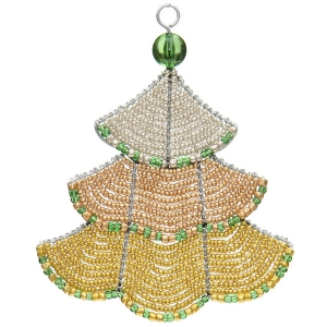 Beadworx: Beaded Elegance Tree Ornament