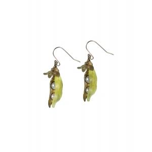 Michael Michaud: Sweetpea Two Pearl Wire Earrings