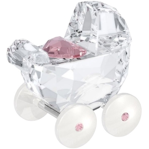Swarovski: Baby Carriage, Pink