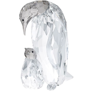Swarovski: Penguin Mother With Baby
