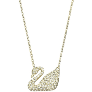 Swarovski: Swan Necklace, Gold-Plated