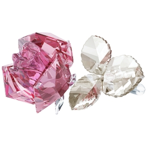 Swarovski: Blossoming Rose, Light Pink