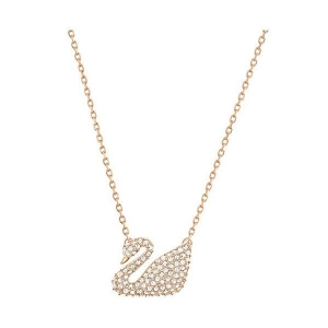 Swarovski: Swan Pendant, Rose Gold-Plated