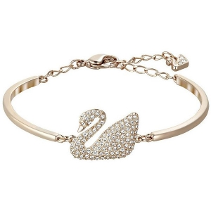 Swarovski: Swan Bangle, Rose Gold