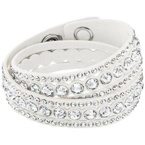 Swarovski: Slake Dot Bracelet, White
