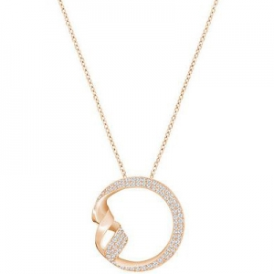 Swarovski: Graceful Necklace, Rose Gold-Plated