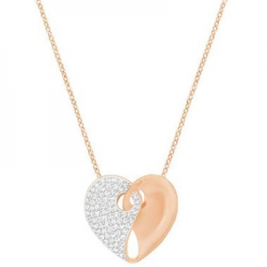 Swarovski: Guardian Medium Necklace, Rose Gold-Plated