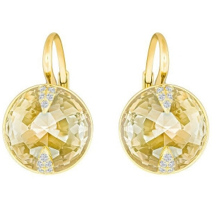 Swarovski: Globe Earrings, Gold-Plated