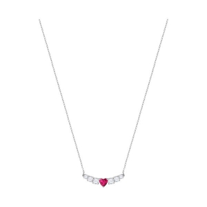 Swarovski: Love Necklace, Rhodium Plated