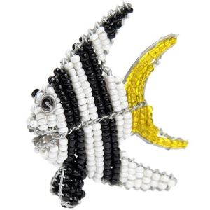 Beadworx: Beaded Angel Fish