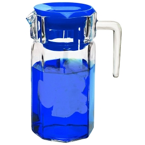 Circleware: 50-Ounce Lodge Pitcher, Blue
